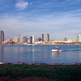 Downtown Skyline view of San Diego
