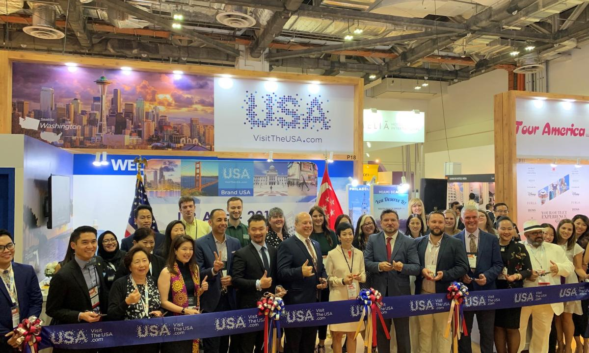 ITB Asia Ribbon Cutting