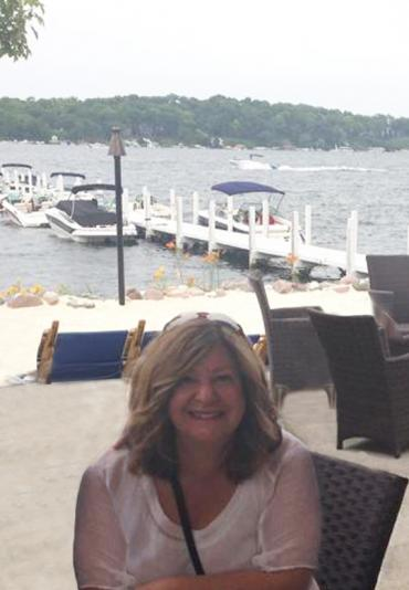 Cathy Domanico at Williams Bay, Wisconsin