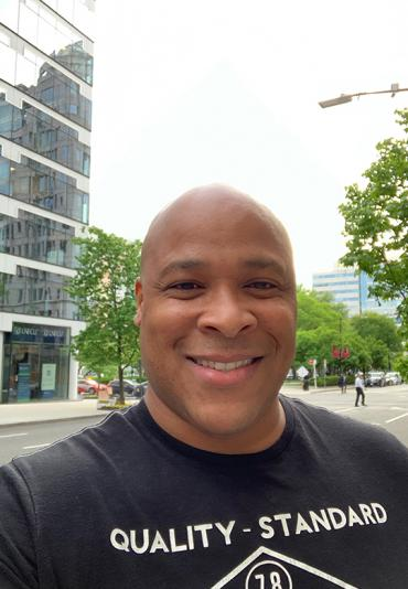 Colin Skerritt in Washington, DC