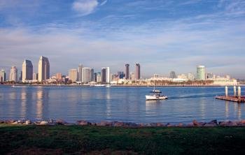 Downtown Skyline view of San Diego, California