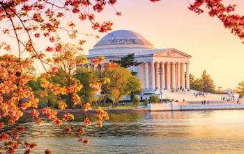Tidal Basin and Jefferson Memorial During Autumn