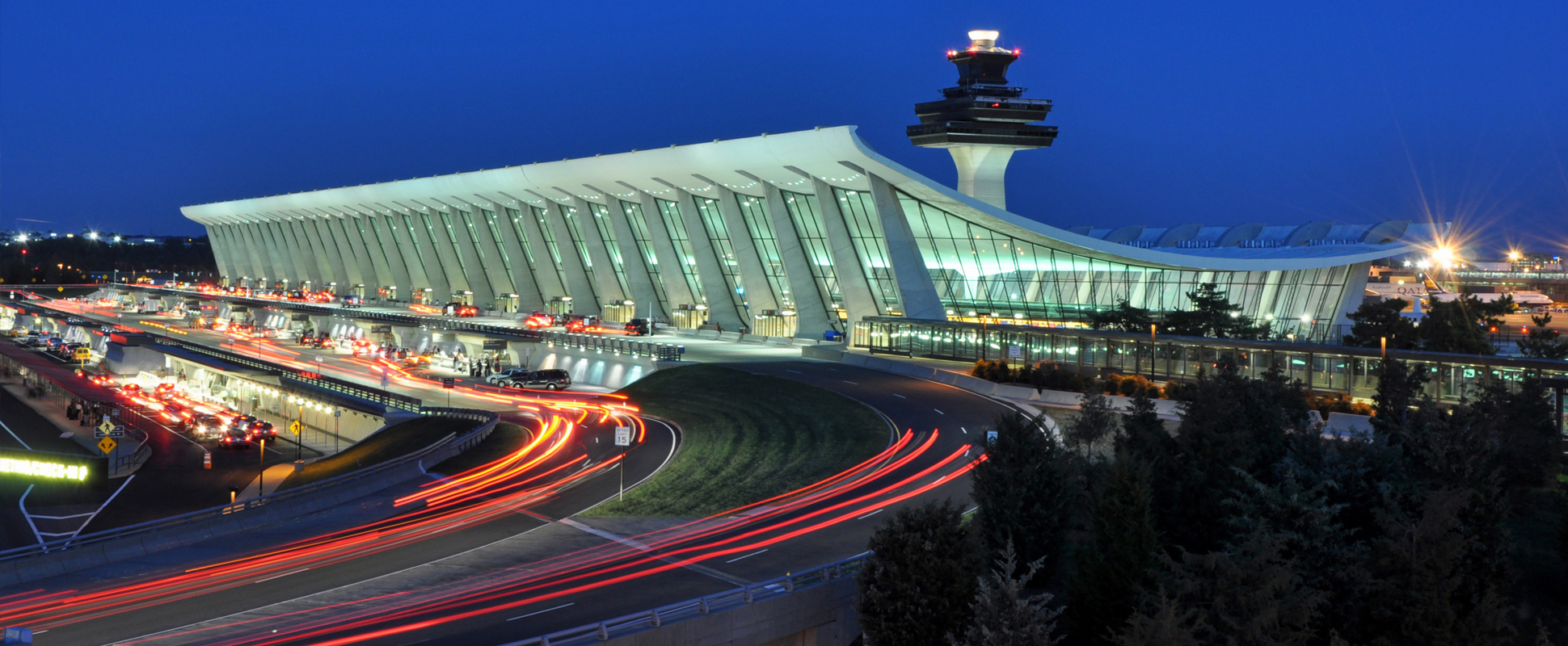 Washington Dulles Airport Dusk